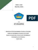 Buku Ajar Translation