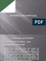 2 Separación Vertical