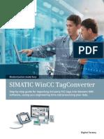 Brochure SIMATIC WinCC TagConverter