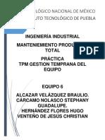 332869220-Tpm-Gestion-Temprana-Del-Equipo.docx