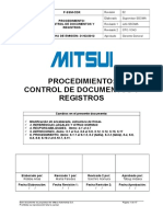 P-SSM-CDR Control de Documentos y Registros 2014