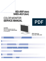 Monitor LCD IBM Model-T56A