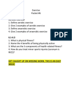 packet 6 - exercise