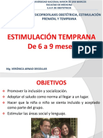 Estimulación Temprana de 6 a 12 Meses