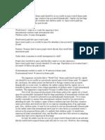 Amusement Park Analysis of Argument