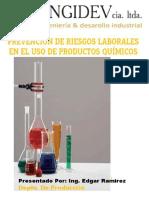 CHARLA DE MANEJO  DE PRODUCTOS QUIMICOS