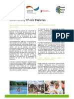 2018 06 11 Factsheet Biodiversity Check Turismo