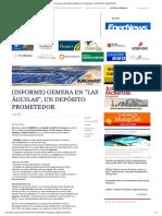 Mining Press _ (Informe) Gemera en _las Águilas_, Un Depósito Prometedor