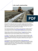Geosynthetics in Road Construction_NOTES