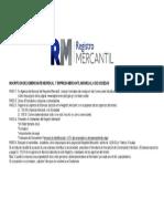 Inscripción de Comerciante y Mercantil