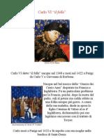 Scheda Biografica Di Carlo VI