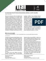 Jornal Toque da Ciencia - 1ª edição