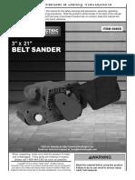 Chicago Electric Belt Sander 69859