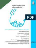 Linee guida per la gestione delle acque meteoriche