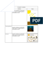 alyssa sanchez - ecosystems  vocabulary