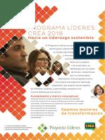 Programa Lideres 2018