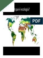 Aula 1 - EOP - Introdução à Ecologia