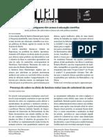 Jornal Toque da Ciência - 2ª edição