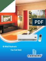 Hi-Wall Hydronic _fan Coil Unit