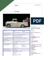 Chevrolet Camionetas 1964_68 - Afinando Motores