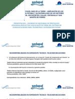 Informe Necesidad Telecom Scada CSM 2019