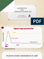 ADHERENCE  ARV dan EFEKTIVITAS ARTpptx.pptx