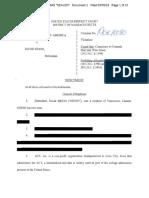 Sidoo Redacted Indictment