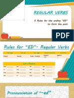 Regular Verbs Rules