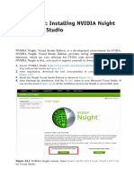 Accelerating Matlab With GPUs Installing NVIDIA Nsight Into Visual Studio