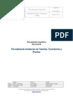 PE-LIX-0318_REV_0- Proced Inst. Tuberias Termofusion y Pruebas.docx