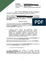 Ejemplo de Resolucion Administrativa