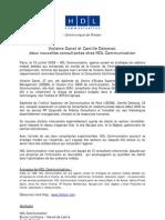 Communique-nomin HDL-VDanet CDelomez