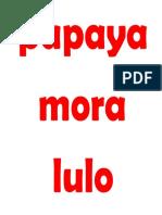 CATEGORIA FRUTAS .ppt