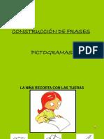 CONSTRUCIION DE FRASES CON PICTOGRMAS.pps