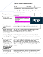 laila best - ermert- senior capstone product proposal