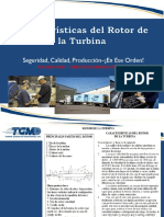 Características Del Rotor de La Turbina