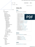 NAOqi APIs — Aldebaran 2.1.1