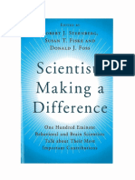 Scientists Making a Difference Gardner