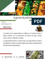 Agroindustrial Prensentacion Maribel Ramirez
