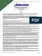 Acheronta 14 - Las instituciones psicoanalíticas en México (un análisis sobre la formación de analisas y sus mecanismos de regulación) - Capítulo 5