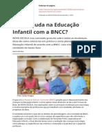 o Que Muda Na Educacao Infantil Com a Bnccpdf