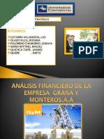 Ppts de Graa y Montero s.a.A