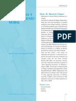 Conciencia y Discernimiento Moral - Maurizio Calipari