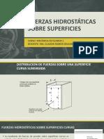 fuerzas hidrostáticas
