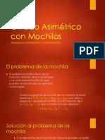 Cifrado Asimétrico Con Mochilas
