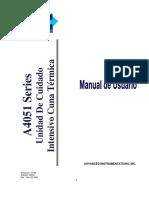 Manual A4051 Series(Esp)