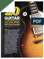20 Guitar Lessons.pdf