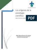Origenes de La Psicología Científica