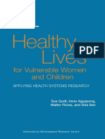 Healthy Lives for Vulnerable Women and Children Applying Health Systems Research.pdf