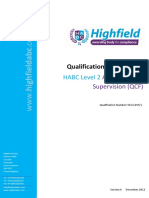 Qual Specification Level 2 Award in Door Supervision
